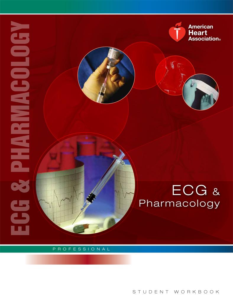 ecg pharmacology acls class cpr course certification ekg student aha workbook pals classroom training aid enroll certificate bls orange hero